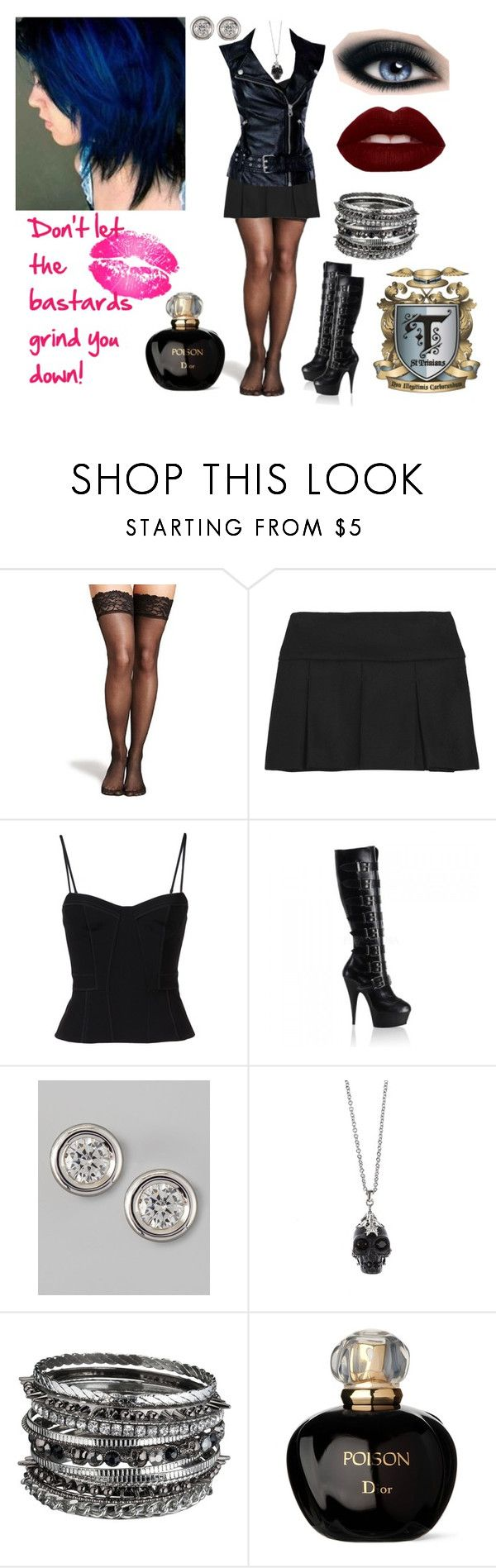 """""""Ruby Stark, Out Of Uniform"""" by darkess93 ❤ liked on Polyvore featuring Marks & Spencer, Miu Miu, Alexander Wang, Miss Sixty, Roberto Coin, Alexander McQueen and Christian Dior"""