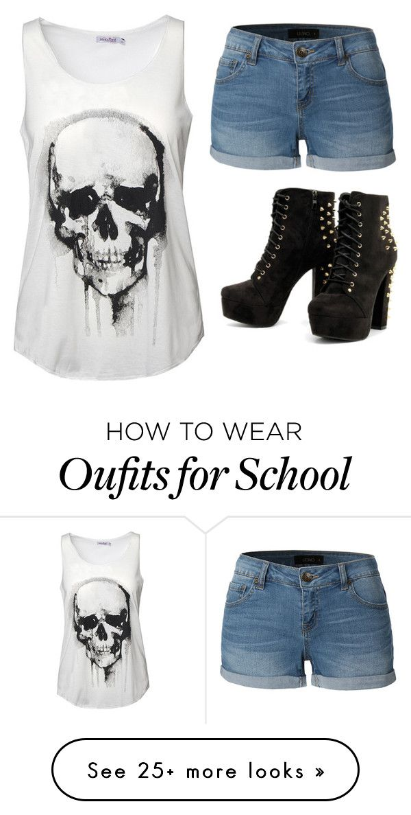 """""""•Schools almost out•"""" by starksgirl108 on Polyvore featuring LE3NO"""