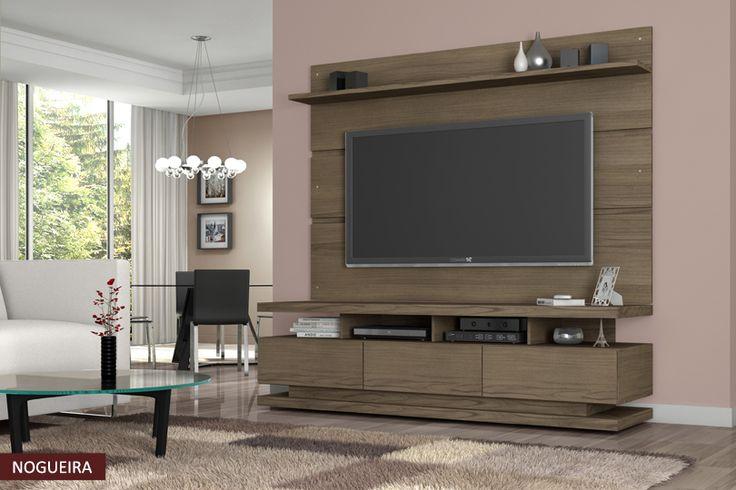 Rack Com Painel Para Tv Vivare - Lojas de Móveis D
