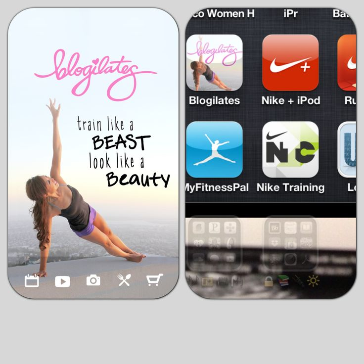 The first ever Blogilates app and it's the coolest! When I found Blogilates a few years ago it changed my whole life and now it's an app for easy on-the-go! Great!