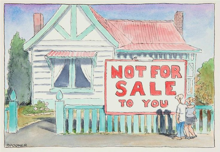 Not for sale to you, John Spooner, 2009 (supplied)