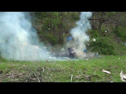 Funny Tannerite explosion - http://fotar15.com/funny-tannerite-explosion/