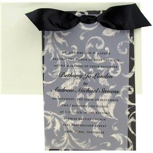 his hers black cream vellum wedding invitationshobby lobby has pretty black and white invitations similar to the ones at target - Hobby Lobby Wedding Invitations