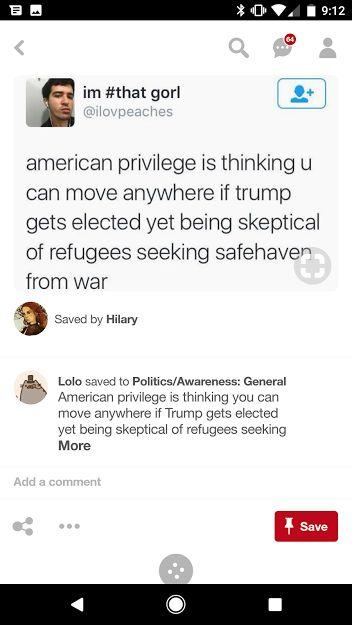Privilege American Citizen Trump Politics Sociology