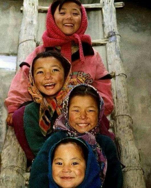 Lindos sorrisos infantis.
