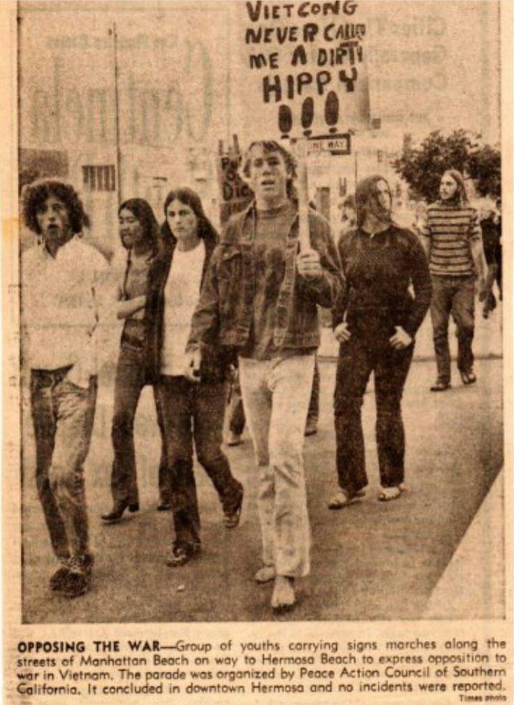 Teenagers Protest the Vietnam War c.1970