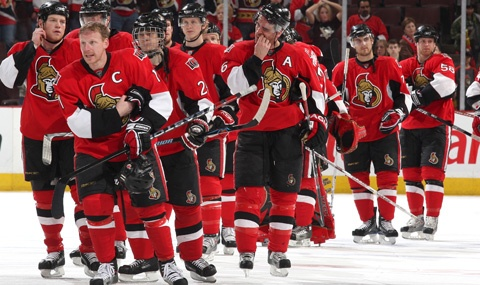 I love the The Ottawa Senators and watching hockey! Cannot play to save my life, but addicted to watching!