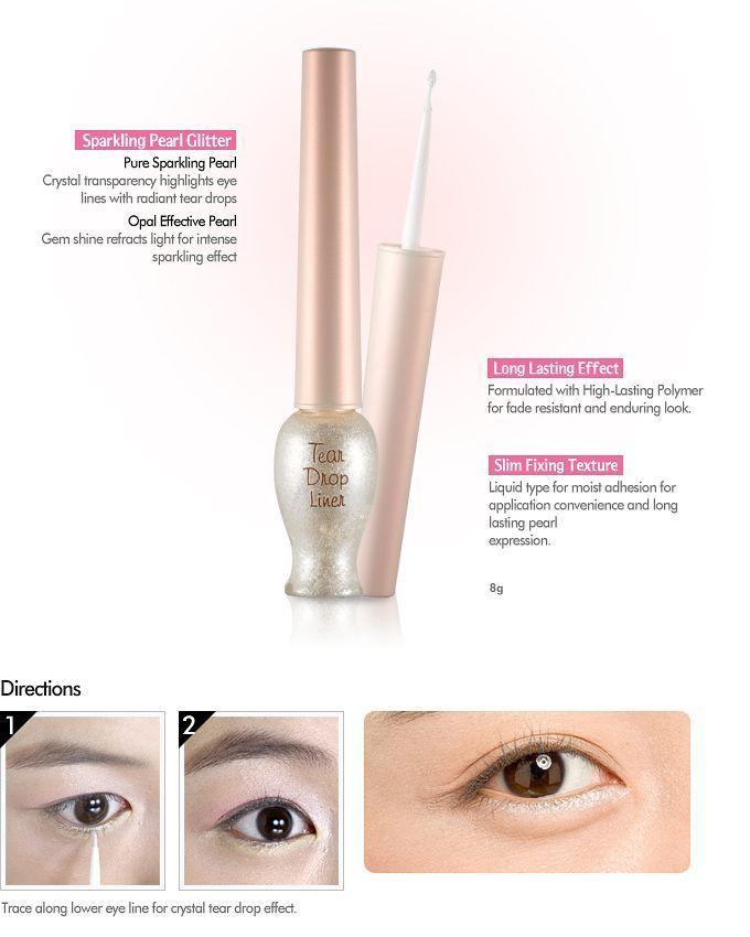 Etude House Tear Drop Liner Rp 73.000 Eyeliner cair dgn glitter halus Varian : - white pearl #1 - pink pearl #3 - sunlight gold #4 . Line : pieceof_ Wa : 08994347875 . #etude #etudehouse #etudeori #etudemurah #eyeliner #eyelinercair #jualeyeliner #eyelinermurah #eyelineretude #eyelinerkorea #eyelinerori #glittereyeliner #etudehouseteardropliner #makeup #kosmetik #jualkosmetik #jualmakeup #jualansis #jualankk #jualankaka #jualanku #olshopindo #trustedshop #trustedseller…