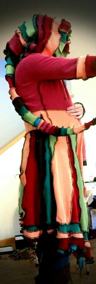 Maternity fairy coat