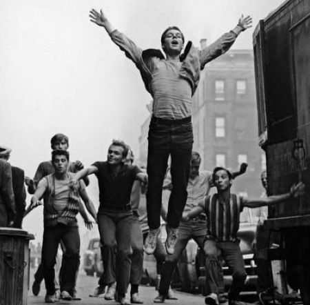 """Russ Tamblyn in West Side Story """"Jet's Song"""""""