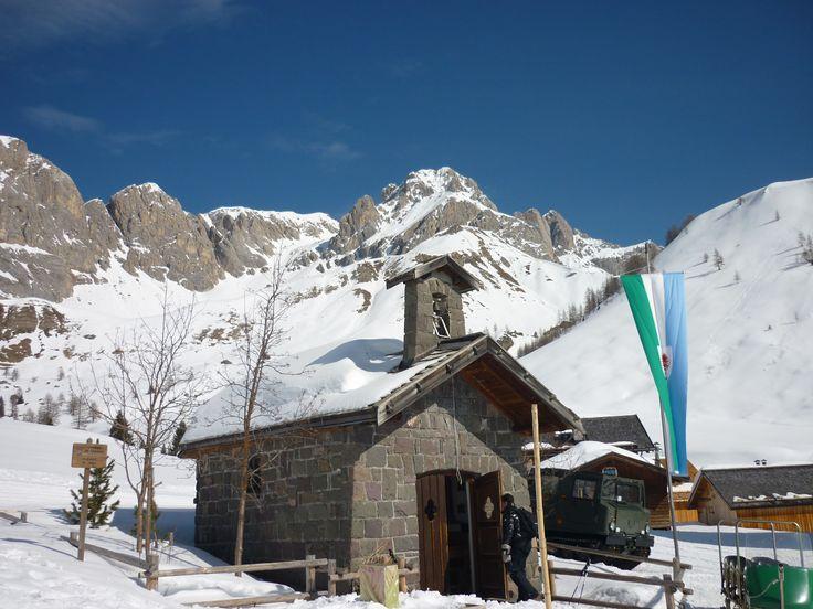 Chiesetta di Fuciade, Passo San Pellegrino