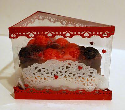 4Dekor вдохновение: Есть идея: Упаковка для мыла -тортика | коробочка