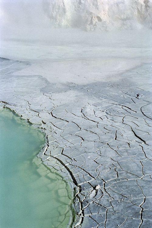 Bumpass Hell, Lassen Volcanic National Park, California.