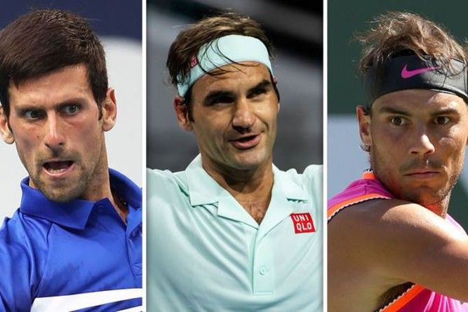 Roger Federer Makes Rafael Nadal And Novak Djokovic Admission It Would Be A Joke Express Roger Federer Novak Djokovic Rafael Nadal