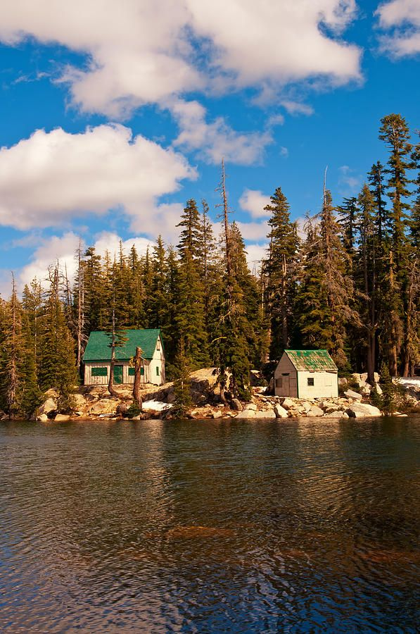 Mosquito Lakes in the Stanislaus National Forest is a popular fishing spot about 6 miles east of Alpine Lake, in California's Sierra Nevada Mountains.  by Jeffrey Campbell
