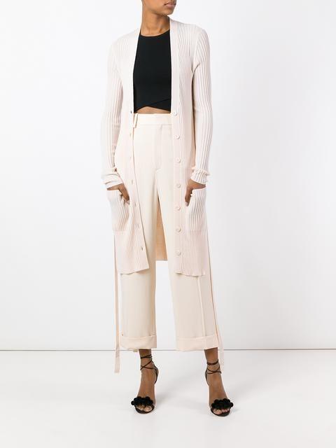 Chloé укороченные строгие брюки