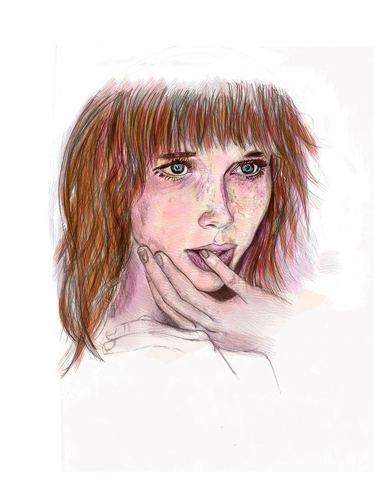 Dibujo digital on Behance