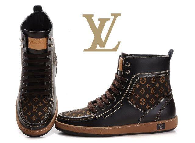 LV High Men Shoes - 2014 Cheap Nike Shoes,Cheap Jordan Shoes,Cheap Nike Air Jordan Shoes Outlet
