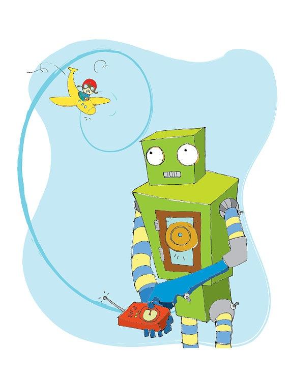 A little robot fun