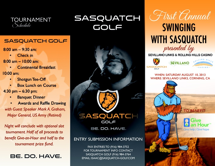 St Annual Swinging With Sasquatch Golf Tournament St Of