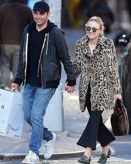 Celebrity Style | 海外セレブ最新ファッション情報 : 【ダコタ・ファニング】アニマル柄コートのレトロコーデで純朴そうな新恋人とデート!