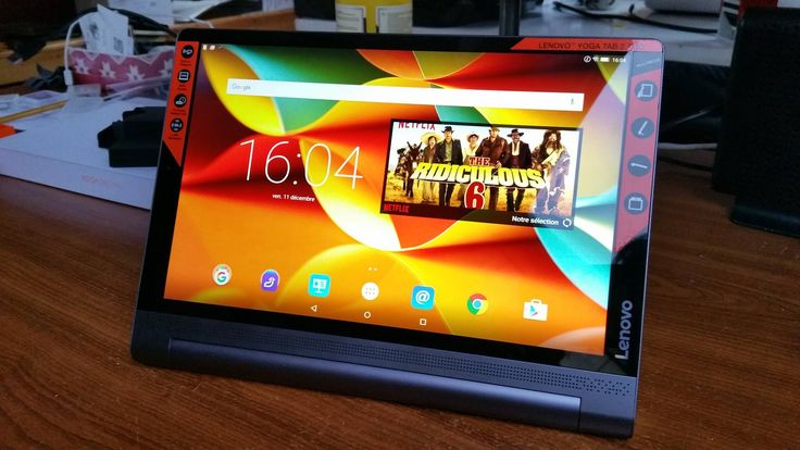 Test tablette Lenovo Yoga Tab 3 Pro