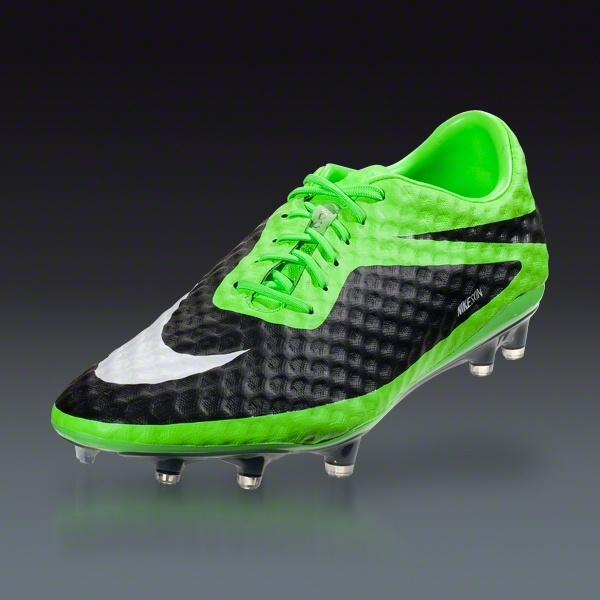 COM  Nike HyperVenom Phantom FG  Flash LimeWhiteBlack  Football  BootsSoccer