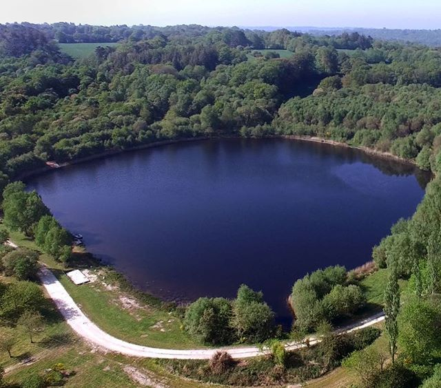 Lac Noir In The China Lakes Complex 8 Acres In Size And 40ft Deep In Places This Carp And Cat Lake Certainly Holds Some Beasts W Carp Fishing Lac Noir Angler