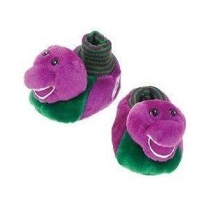 Barney slippers. Heck yea!!!
