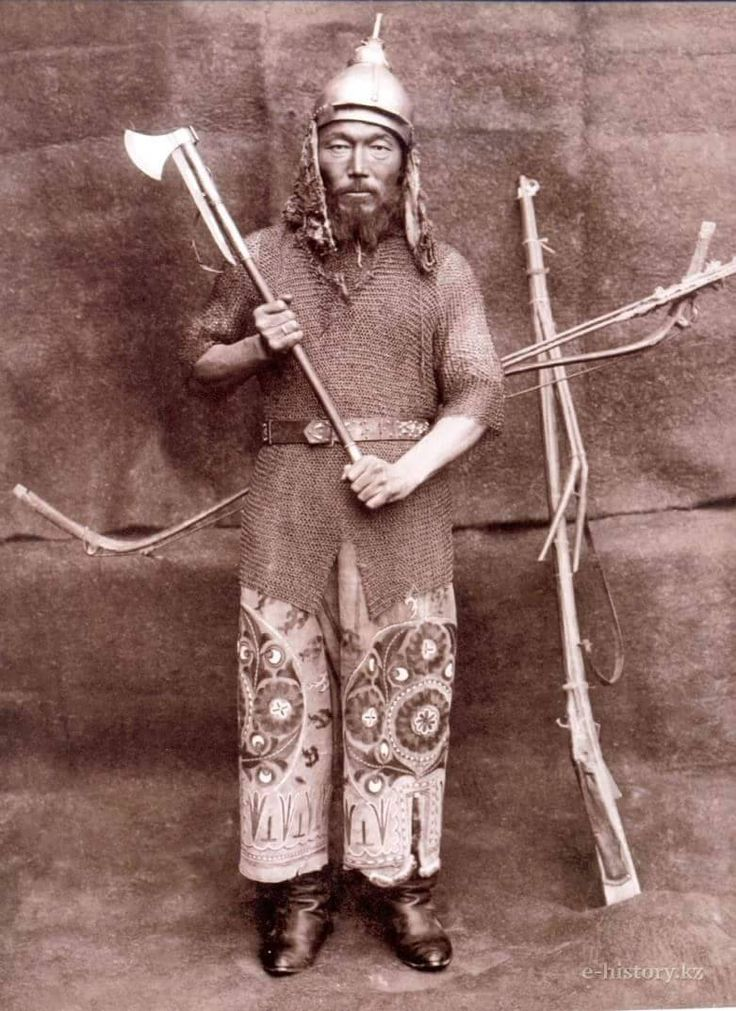 Kazakh warrior: