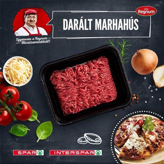 Bár sokan más húsból készítik, az igazi, olasz bolognai ragu mindig marhahúsból készül. Próbáld ki egy kis csavarral: http://www.spar.hu/hu_HU/spar_chef/receptek/foetel/bolognai_pizza.html