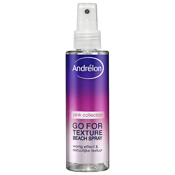 Andrelon Hair Style: Hairspray Go For Texture Beach.