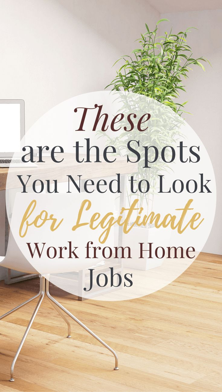 Interested in work at home jobs? These are the places you should be checking every day to find legitimate remote opportunities and work at home jobs.