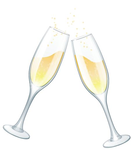 wedding glasses clipart | Wedding Clip Art