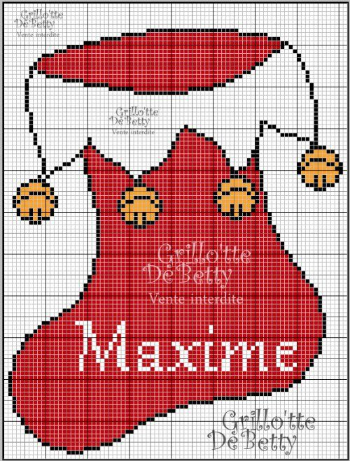 no l christmas botte point de croix cross stitch blog http broderiemimie44. Black Bedroom Furniture Sets. Home Design Ideas