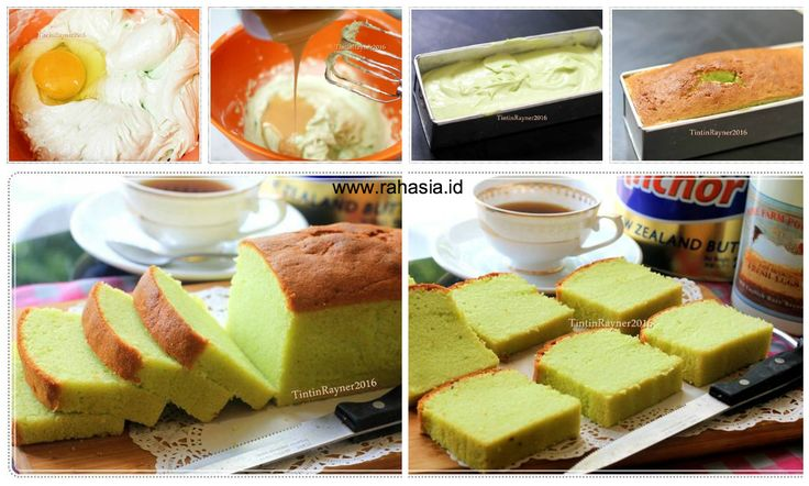 Rahasia.id: Resep Pandan Cake dengan Susu Kental Manis. Lembut, Enak dan Wangii!