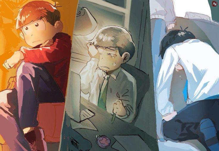 Osomatsu,Choromatsu & Karamatsu