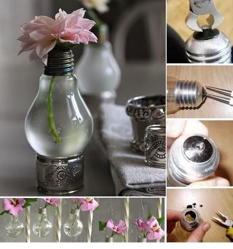 Recycle Light Bulbs Planters | DIY & Crafts Tutorials