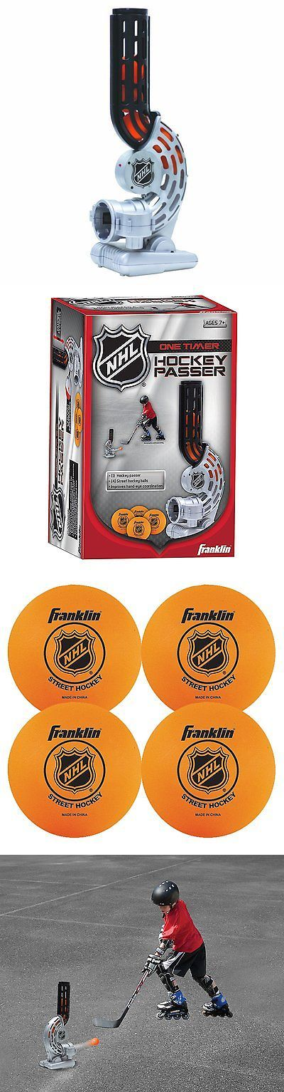 Other Ice and Roller Hockey 2911: Ball Automatic Feeder Passer Hockey Sports Franklin One Timer Practice Shooting -> BUY IT NOW ONLY: $39.86 on eBay!