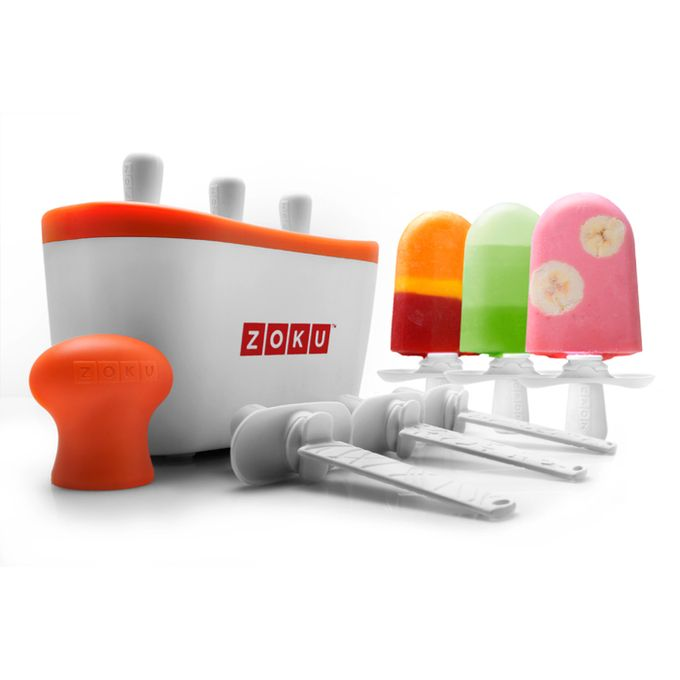 Quick Pop Maker by Zoku - So quick, healthy, and you can design your own! #kids #snacks #healthyeating