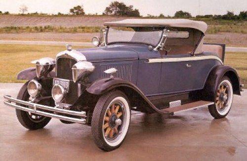 1928 Pontiac Roadster.