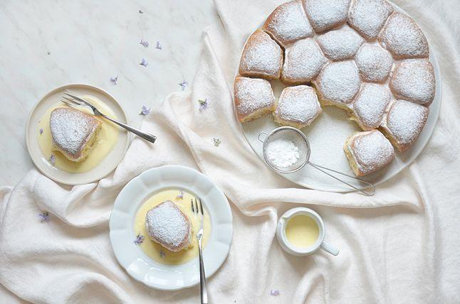 Kublanka vaří doma - Makové buchty s vanilkovou omáčkou