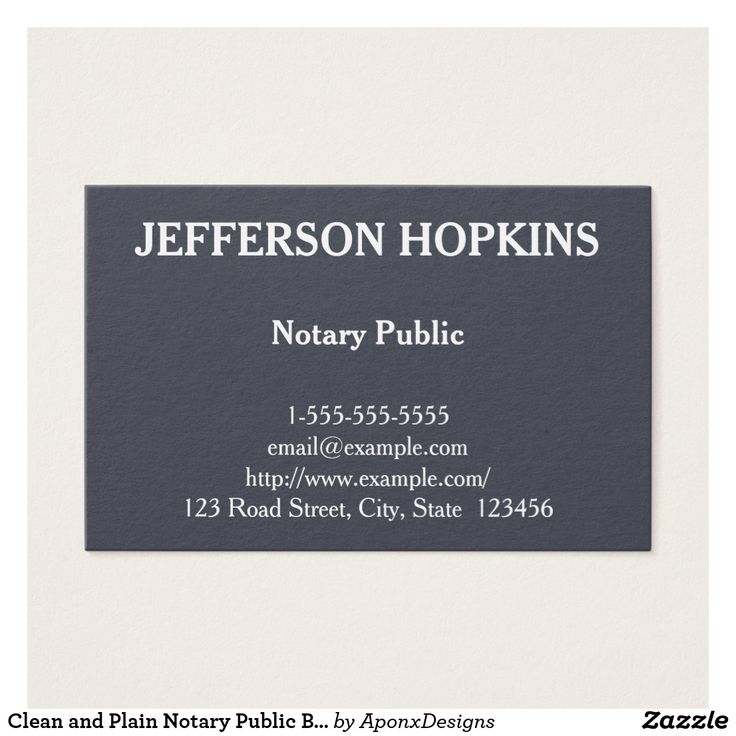 14 best notary public and loan signing agent images on pinterest clean and plain notary public business card publicscrutiny Image collections