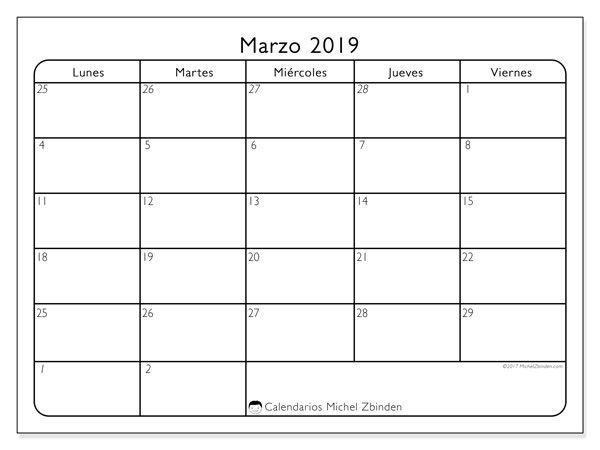 Calendario Marzo 2020 Peru.Calendarios Para Imprimir Hb Calendario Enero