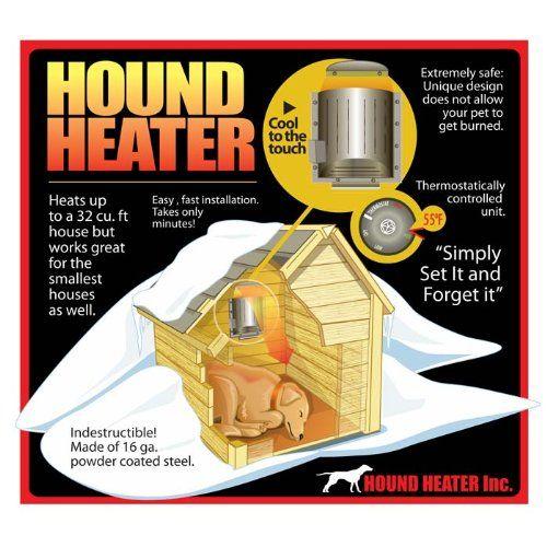 Hound Heater Pet House Furnace/Heater - http://www.thepuppy.org/hound-heater-pet-house-furnaceheater/