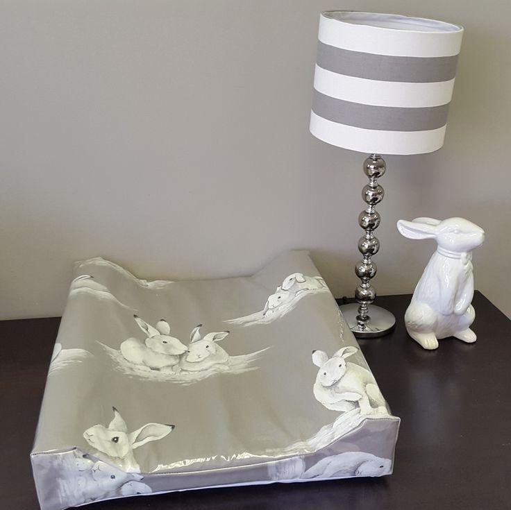 Bashful Bunny Plastic covered change mat