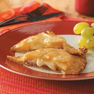 Brunch Pockets Recipe from Taste of Home -- Shared by Jean Kimm of Coeur d'Alene, ID
