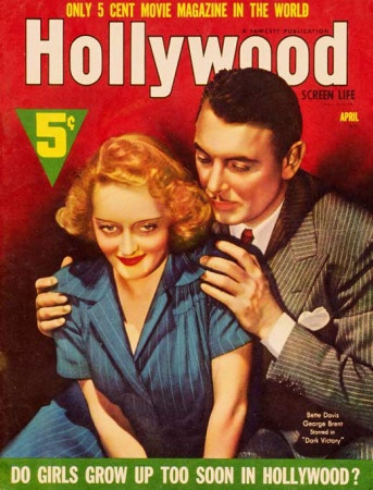 Hollywood Screen Life Magazine - 1930s - Bette Davis and George Brent