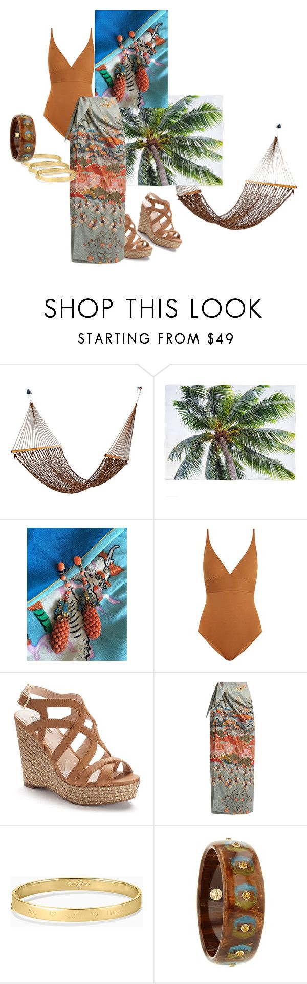 """Untitled #20"" by ccmonkvintage on Polyvore featuring Eres, Jennifer Lopez, Stella Jean, Stella & Dot and Mark Davis"