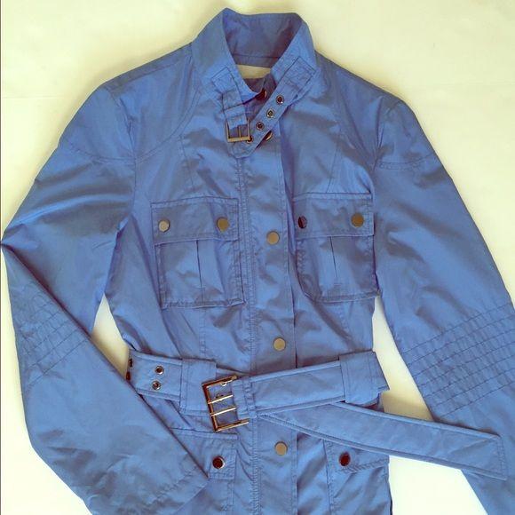 Zara Winter Jacket Blue Rain Jacket Zara Jackets & Coats